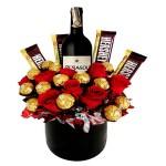 !Chocolate surprise!. Regalos día del Padre 2020. Floristería ALMA FLORAL Bogotá