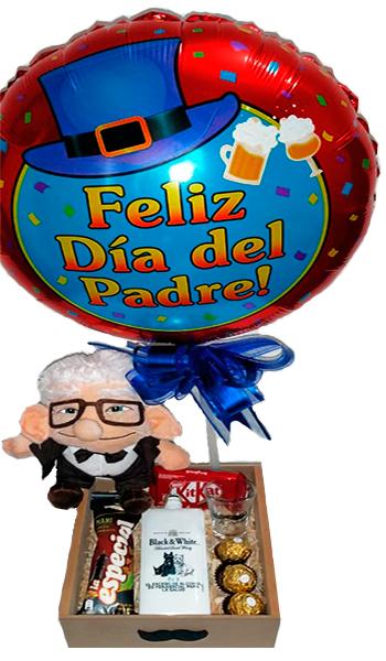 ANCHETA MI QUERIDO VIEJO. Regalos Día del Padre 2020 Bogotá. Floristería ALMA FLORAL