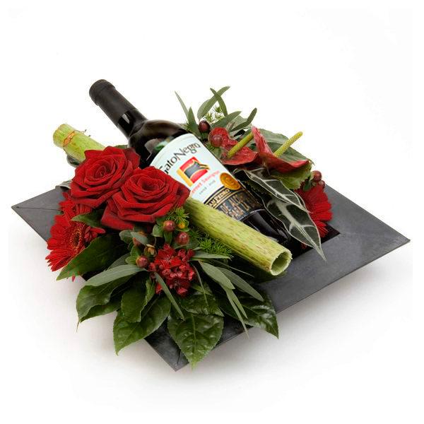 Luxury wine. Regalos Día del Padre 2020. Floristería ALMA FLORAL Bogotá