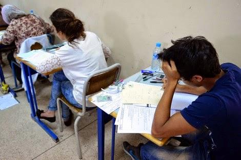 """وزارة بلمختار تقدم حصيلة """"الغش"""" في اليوم الأول من امتحانات """"الباك"""""""