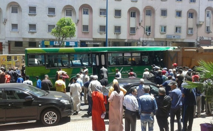 حادث… حافلة تصدم شاحنة ونقل 15 مصابا لأقسام المستعجلات بالبيضاء