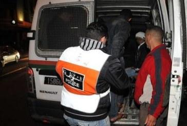 """توقيف """"مجرم خطير"""" واجه عناصر الأمن بعنف وروع حي الفرح بالرباط"""