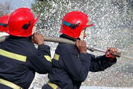 """حريق سوق """"كاساباراطا"""" يأتي على 240 محلا للمتلاشيات وبيع الأفرشة بطنجة"""