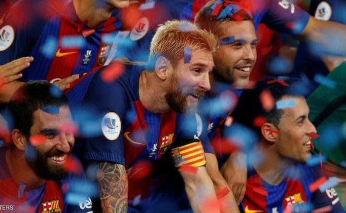 برشلونة يعلن رسميا تمديد عقده مع ليونيل ميسي