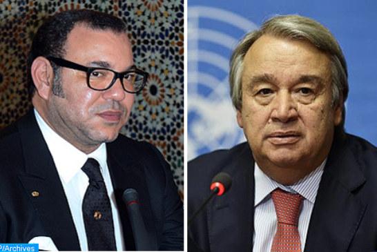 """الملك يطالب الأمين العام للأمم المتحدة بوضع حد لاستفزازات """"البوليساريو"""" في """"الكركارات"""""""