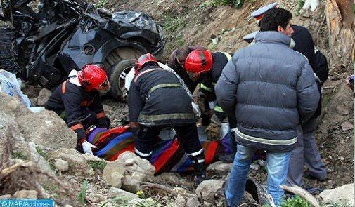 مصرع 3 أشخاص في حادثة سير خطيرة بفكيك