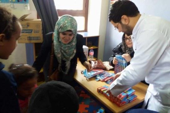 جمعية إسعاد تسعد وترسم البسمة على شفاه أطفال إيموزار كندر في مبادرة إنسانية نبيلة