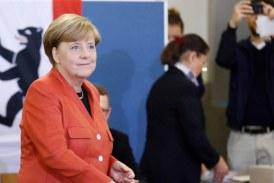 ميركل تقود حزبها للفوز في الانتخابات التشريعية بألمانيا