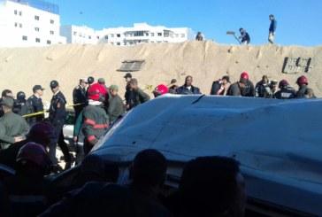 فاجعة جديدة… وفاة عدة أشخاص وإصابات عديدة بعد انهيار سور بالدار البيضاء