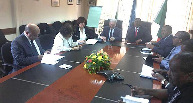 الأمانة العامة لاتحاد المغرب العربي تقوم بزيارة عمل رسمية إلى زامبيا