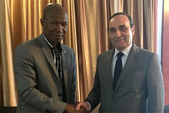 """ليبريا تؤكد دعمها ترشيح المغرب لعضوية المجموعة الاقتصادية لغرب إفريقيا """"سيداو"""""""