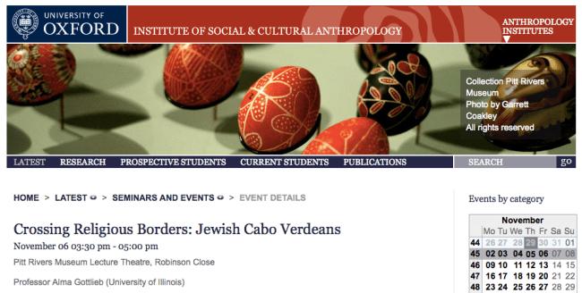 U Oxford Talk, 11-6-15, Website Listing-Screenshot