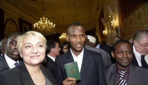 Lassana Bathily with French Passport