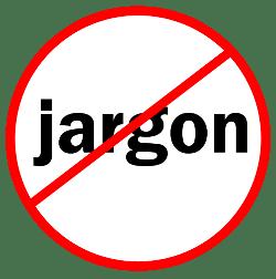 no-jargon-allowed