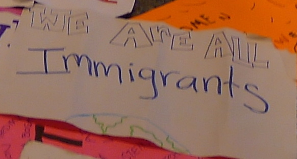 Poster-We Are All Immigrants (LS Photo)