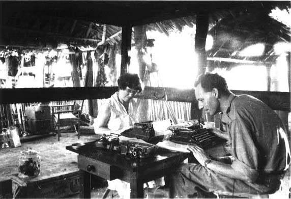 Margaret Mead & Gregory Bateson