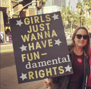 Poster, Girls Just Wanna Have Fundamental Rights