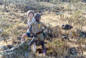 Colin & Sadiki-Proud Pretend Hunters