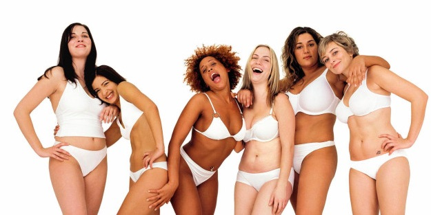 Dove Beauty Campaign-Diverse Women in Underwear