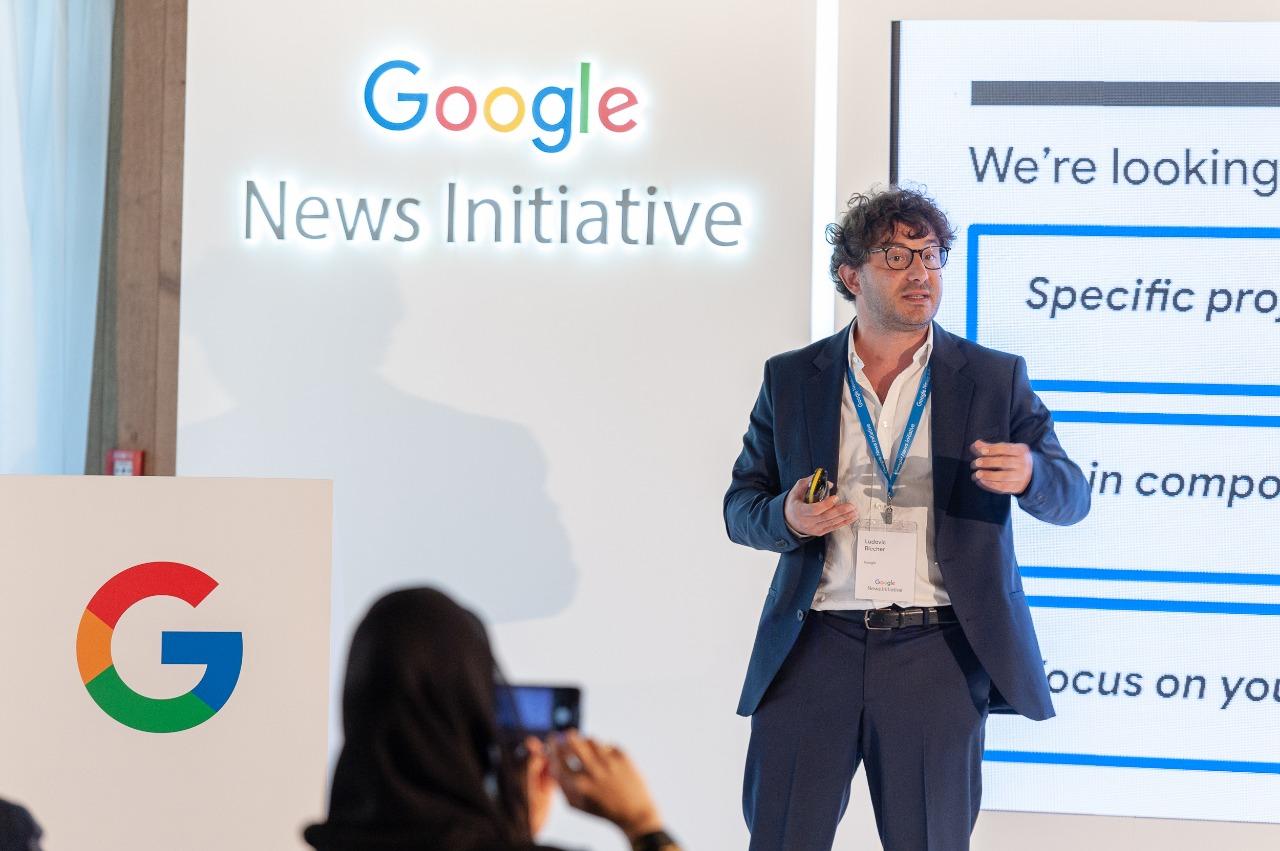 لودوفيك بليشر، رئيس الابتكار في مبادرة أخبار Google