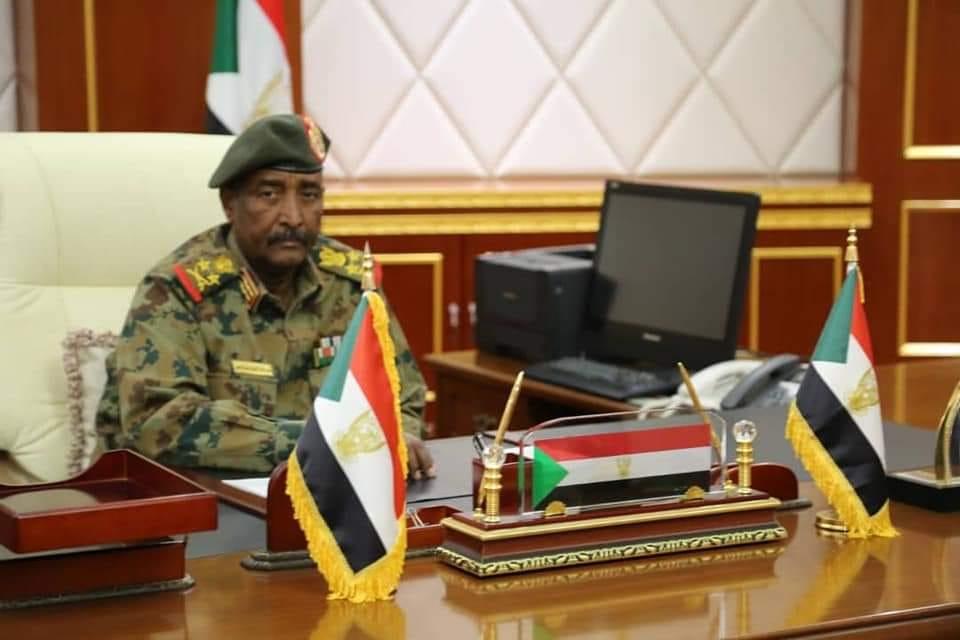 رئيس المجلس العسكرى الانتقالى بالسودان الفريق أول عبدالفتاح البرهان