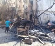حريق يلتهم 6 شقق بالقطامية.. وأهالي يطالبون بمساكن مؤقتة للمتضررين (صور)