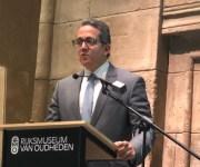 وزير الآثار يفتتح المؤتمر الدولي لشباب علماء المصريات بهولندا