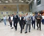 وزير الطيران يطمئن على انتظام التشغيل بمطار شرم الشيخ في العيد    (صور)