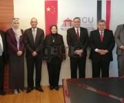 رئيس جامعة ECU يؤكد على تعميق العلاقات وتعزيز الاستفادة من تجربة الصين