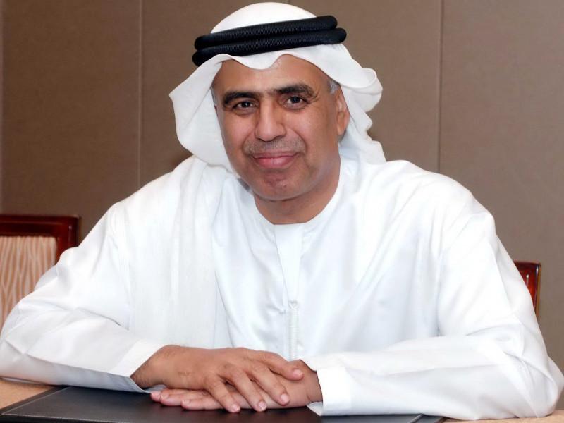 عبيد بن حميد الطاير وزير الدولة للشؤون المالية بالإمارات