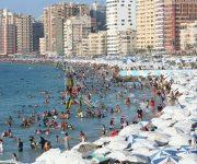 قرار بغلق جميع شواطئ الإسكندرية بداية من الغد