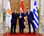 زعماء مصر و قبرص واليونان: اتجاه لتحويل منتدى غاز المتوسط لمنظمة إقليمية