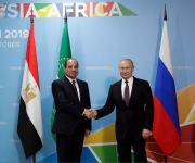 بوتين : الإمارات تهتم بالمشاريع الروسية-المصرية المشتركة فى مجال الصناعة