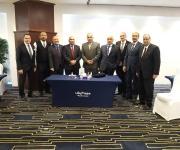 وفد جمعية رجال أعمال الإسكندرية يبحث الفرص الاستثمارية بالرياض