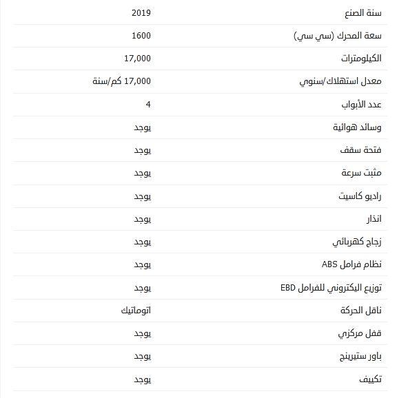 أسعار مازدا 3 مستعملة 2019