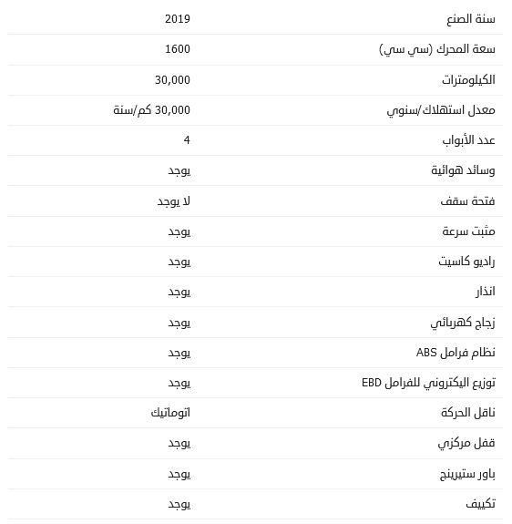 أسعار بيجو 3008 موديل 2019