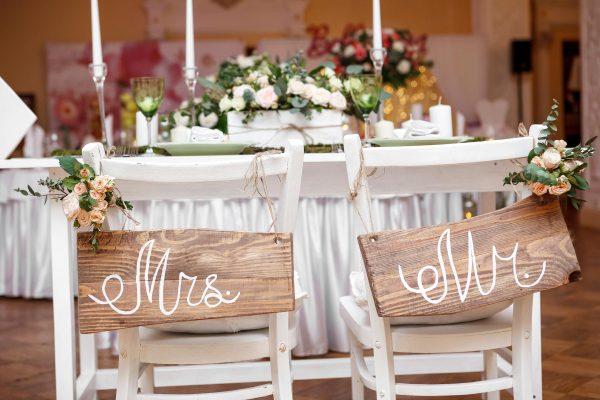 التخطيط لحفلات الزفاف