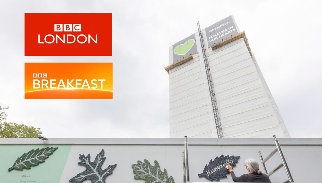 BBC Coverage of Grenfell Tower Fire 3rd Anniversary