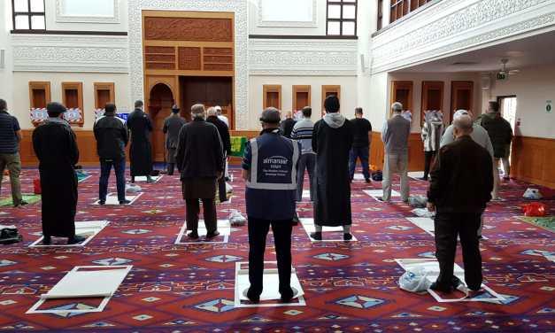 The first Janaza prayer at Al-Manaar Mosque Since Lockdown