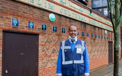 MyLondon: West London mosque's pop-up vaccine centre
