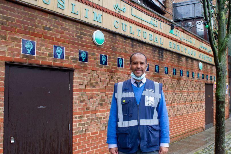 MyLondon: West London mosque's pop-up vaccine centre