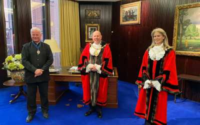 Cllr Gerard Hargreaves was re-elected as Mayor of The RBKC