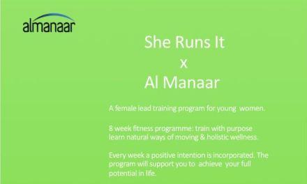 She Runs X Al-Manaar