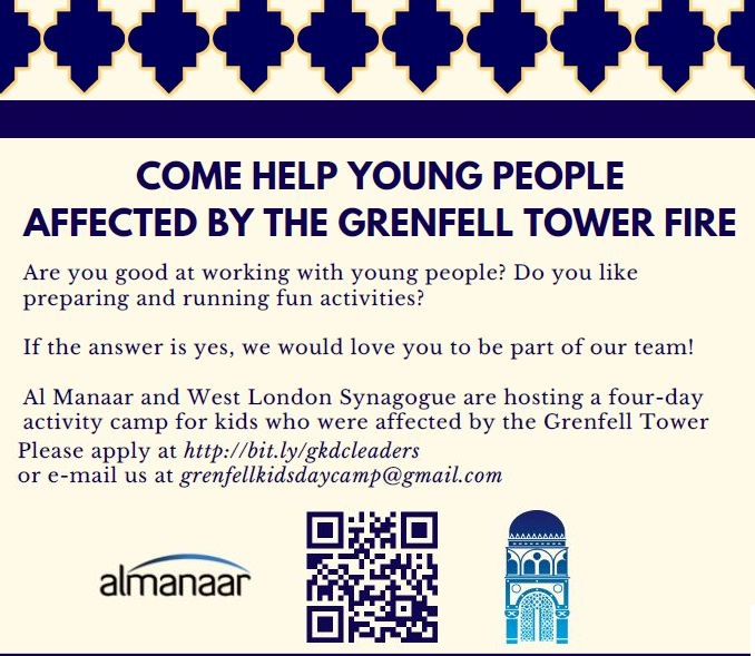 Al Manaar and West London Synagogue four-day activity camp