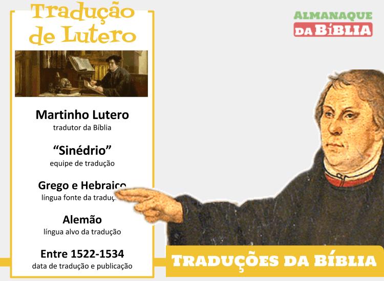 A Tradução Da Bíblia De Martinho Lutero