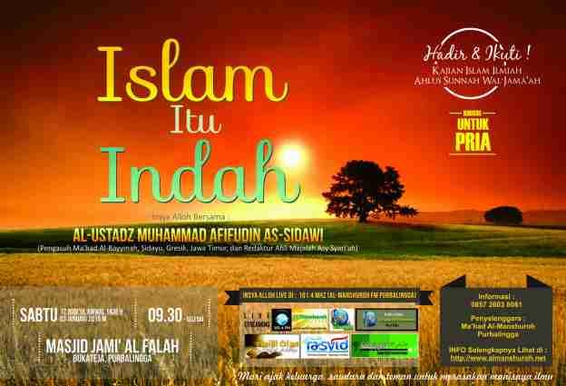 Purbalingga_12 Robi'ul Awwal 1436 H_Islam Itu Indah