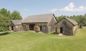 Aerials of the Barns