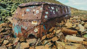 Volkswagen T1 abandonada Andorra Naturlandia Pic Negre