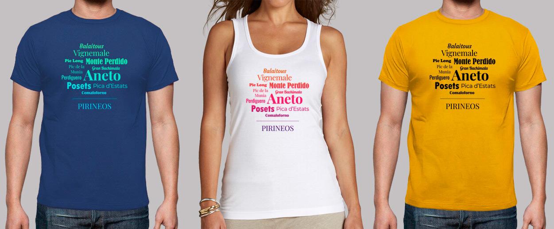 Camiseta Pirineos de Alma Outdoor