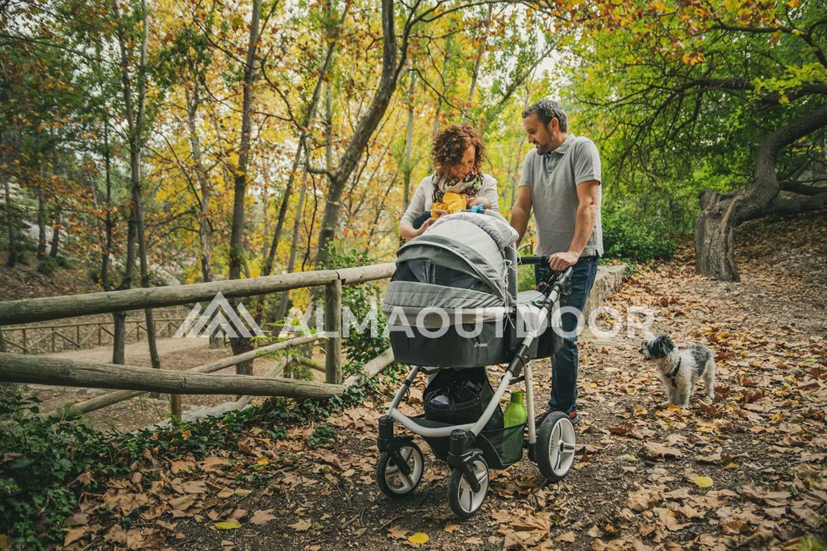 Los mejores carritos de bebé todoterreno para pasear por el campo, naturaleza, outdoor, montaña